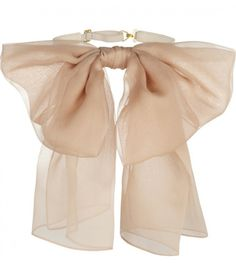 Pick Of The Day: Silk Bow Collar