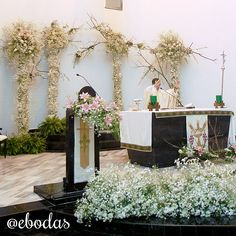 La belleza del shabby chic #ebodas #wedding #flowers