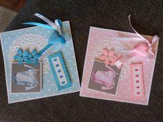 vauvakortteja, silk clay-sydän
