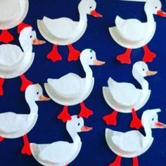 Paper plate animals craft idea for kids – Crafts and Worksheets for Preschool,Toddler and Kindergarten Duck Crafts, Bird Crafts, Wooden Crafts, Easter Crafts, Paper Plate Crafts For Kids, Animal Crafts For Kids, Toddler Crafts, Art For Kids, Crafts To Make
