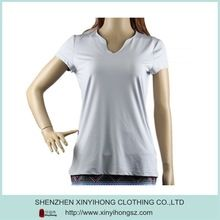 Fashion New design Dri fit polyester smooth material Sports T shirts for women  Best buy follow this link http://shopingayo.space