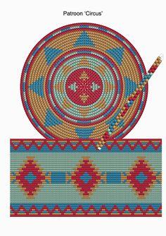 Mochila Bag pattern - Circus - CraftsbyManon