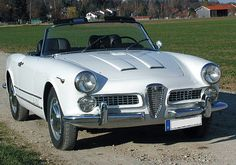 Alfa Romeo 2000 Spider (1958) Maintenance/restoration of old/vintage vehicles: the material for new cogs/casters/gears/pads could be cast polyamide which I (Cast polyamide) can produce. My contact: tatjana.alic@windowslive.com