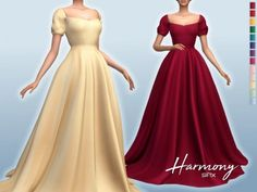 Laura Dresses, Royal Dresses, Sims 4 Mods Clothes, Sims 4 Clothing, Los Sims 4 Mods, Sims 4 Free Mods, Sims 4 Challenges, Sims 4 Collections, Kate Dress