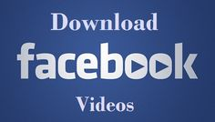 New Tech Tricks World: Simply  Download Facebook Videos without Any Softw...