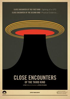 Close Encounters of the Third Kind - movie poster - Marcus Reed