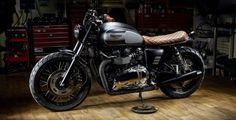 Custom Triumph Bonneville T100 | Macco Motors - Grease n Gasoline