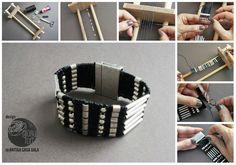 Pulsera Loom _ Gloria Fort Free tutorial DIY