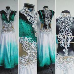 Nové šaty na štandard z našej dielne.