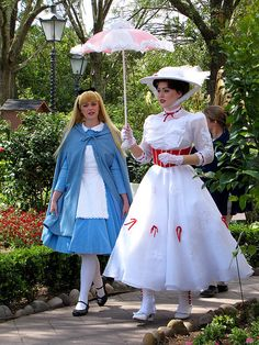Mary Poppins Nannying Alice :-)