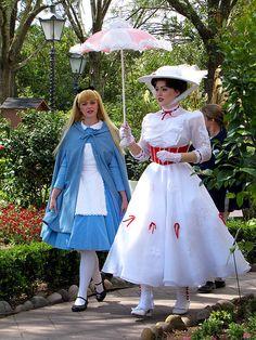 Mary Poppins Nannying Alice  :-)