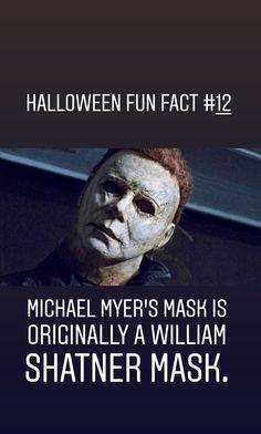 Halloween Halloween House, Halloween Night, Black Cat Adoption, Halloween Fun Facts, Michael Myers Mask, Celtic Festival, A Child Is Born, William Shatner, Walt Disney Pictures