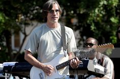 Musician Jackson Browne performs with Venice at Jammin` In The Canyon - A Concert for The Canyon Charter School on October 2008 in Santa Monica, California. Jackson Browne, Santa Monica, Venice, Singer, Music, Awesome, School, October 5, Poet