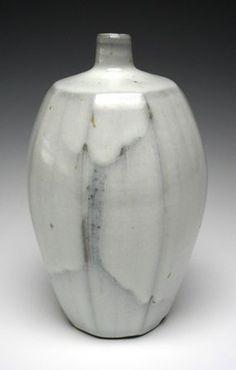 Nuka Glaze Bottle by Kent Harris Pottery