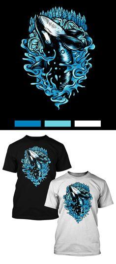 Printed T-Shirt,Broadwalk Leading to Coast Fashion Personality Customization