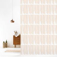 Roomblush behang wallpaper rain copper behangpapier woonkamer slaapkamer interieur design muurdecoratie