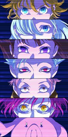 Nanatsu No Taizai/ The Seven Deadly Sins Elizabeth Seven Deadly Sins, Seven Deadly Sins Anime, 7 Deadly Sins, Anime Eyes, Manga Anime, Anime Art, Akira Anime, Meliodas And Elizabeth, Seven Deady Sins