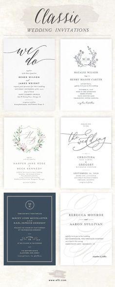 51 Best Elli Wedding Invitations images | Wedding stationery ...
