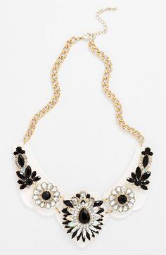 Tildon Floral Statement Necklace available at #Nordstrom