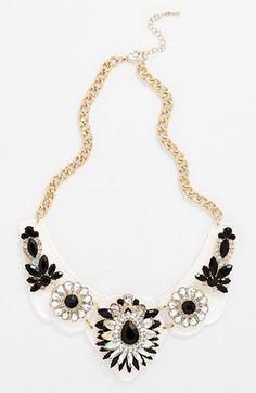 Floral Statement Necklace | @Nordstrom