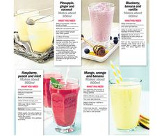 Juice your way to five a day | News | Lorraine Pascale