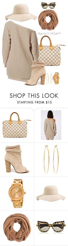 """""""Untitled #3161"""" by stylebydnicole ❤ liked on Polyvore featuring Louis Vuitton, Kristin Cavallari, Brooks Brothers, Movado, S'well, J.Crew and Anna-Karin Karlsson"""