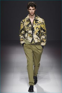 Salvatore Ferragamo adds a whimsical vibe to the season with its pucker prints.