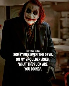 Joker quotes : Apology and trust quote joker True Quotes, Great Quotes, Funny Quotes, Funny Memes, Inspirational Quotes, Qoutes, People Quotes, Citations Jokers, Citations Film