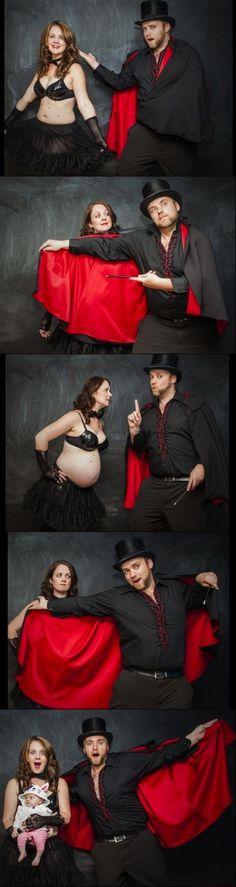Das kreative Babybauch-Foto