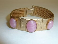 Vintage Art Deco Style Gold Tone Panel Link by labaublesandbags, $30.00