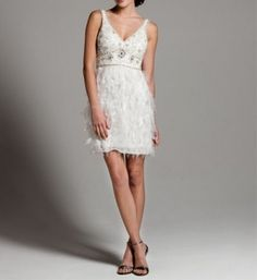 Sue Wong Wedding Dress. so cute for a  casual wedding or elopement or destination.