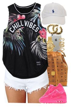 """""""Untitled #1389"""" by power-beauty ❤ liked on Polyvore featuring Rolex, Forever 21, MCM, NIKE and H&M"""