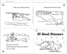 Level C Mini-Book: All About Dinosaurs