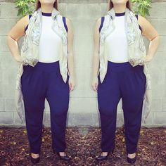 Give this @mynt1792 boss lady look a try - great day to night style! #tgif #bosslady #officeoutfit #ootd #navy #scarf #plussize #plussizefashion #plussizestyle #psfashion #psstyle #psblogger #fatshion #effyourbeautystandards #honormycurves #curves #curvy #torontofashion #primaala #beautyislimitless #plussizeootd #psootd #girlpower