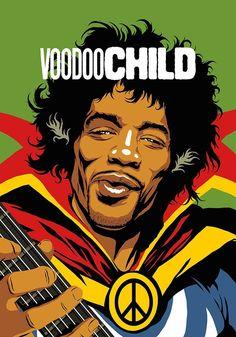 Butcher Billy: Famous Guitarists and Singers Turned into Super Heroes Roy Lichtenstein Pop Art, Jimi Hendrix, Andy Warhol, Rock Argentino, Pop Culture Art, Hip Hop Art, Music Artwork, Retro Pop, Rock Legends