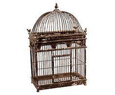 Gaiola decorativa birds