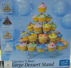 Supplies – Cakes Plus Tampa Wilton Cupcake Stand, Wilton Cupcakes, Large Cupcake, Cupcake Stands, Cake Baking Supplies, Party Supplies, Dessert Table Birthday, Cakes Plus, Buy Cake
