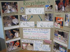 Creative Art Project Documentation- Recyclables