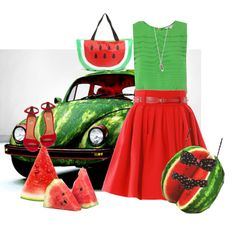 watermelon therapy, would I really wear this.....possibly!!  :)