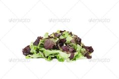Bunch of green and red leaf of lettuce. ...  background, bunch, close up, close-up, food, freshness, green, ingredient, isolated, leaf, leaves, lettuces, organic, purple, red, salad, tecture, texture, variation, vegetable