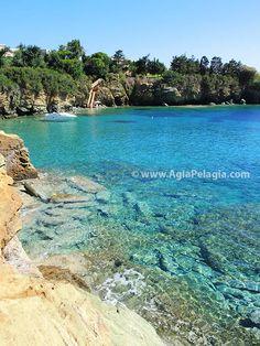 beach of Filakes in Agia Pelagia  #beach #fylakes #filakes