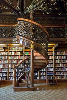 Wenckheim Palace Library - Budapest, Hungary | via Tumblr on We Heart It