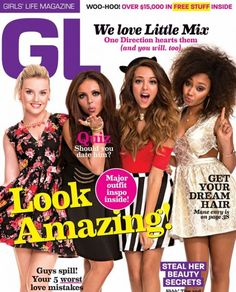 "Little Mix en la revista ""Girl's Life"" hablando sobre One Direction y The X Factor UK"