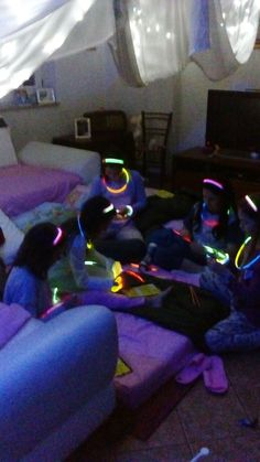 Pigiama party braccialetti luminosi #starlight