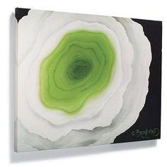 "Art Option over sofa--David Bromstad ""The Flower Within"" Artwork-GIR 30x40"
