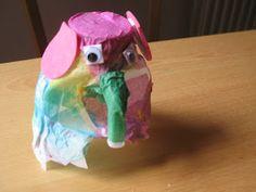 Milk Bottle Elmer (the elephant)