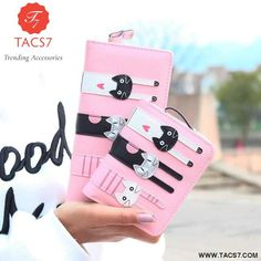 Cheap wallet long, Buy Quality f wallet directly from China fashion wallet Suppliers: Hot Sell !New Fashion Women Cat Wallet Long Short Cartoon purse Female Card Holder Lady clutch coin purse Female zipper notecase Cat Wallet, Long Wallet, Slim Wallet, Clutch Wallet, Bags Travel, New Fashion, Fashion Women, Cat Lover Gifts, Purses And Handbags