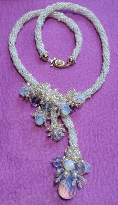 Frozen - designed by Jimmie Boatright - Classes and pattern available at www.beadjoux.com
