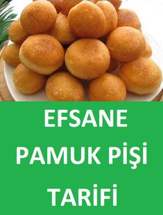 Efsane Pamuk Pişi Tarifi - Well Tutorial and Ideas Sweets Recipes, Healthy Recipes, Rose Cookies, Turkish Breakfast, Bagel Recipe, Bread And Pastries, Turkish Recipes, Pretzel Bites, Bread Baking