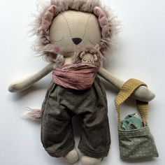 Just launched! Sleepy LEOPOLD Lion Daddy and Baby PLAYSET 2, Collector's OOAK Heirloom Cloth Dolls https://www.etsy.com/listing/524511014/sleepy-leopold-lion-daddy-and-baby?utm_campaign=crowdfire&utm_content=crowdfire&utm_medium=social&utm_source=pinterest